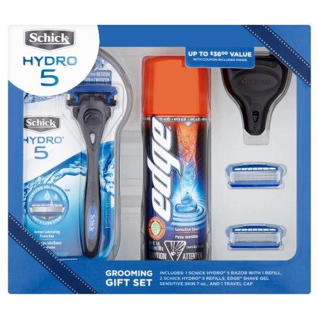 Select Walmart Stores: Schick Hydro Set including 1 Razor, 3 Blade Refills, 1 Edge Shave Gel, and 1 Travel Cap $1.97