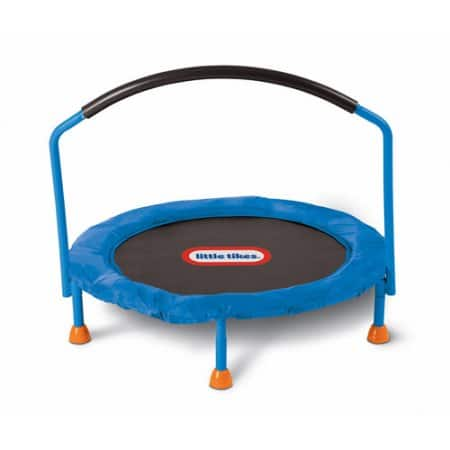 Select Walmart Stores: Little Tikes 3 feet Easy Store Indoor Trampoline $35 YMMV
