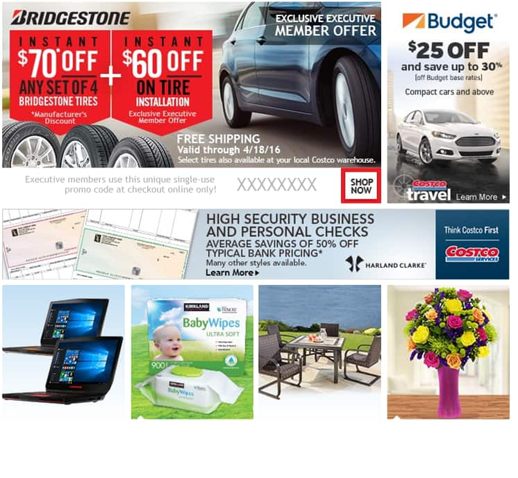 Costco Executive Member Email Offer 130 Off Installed Bridgestone
