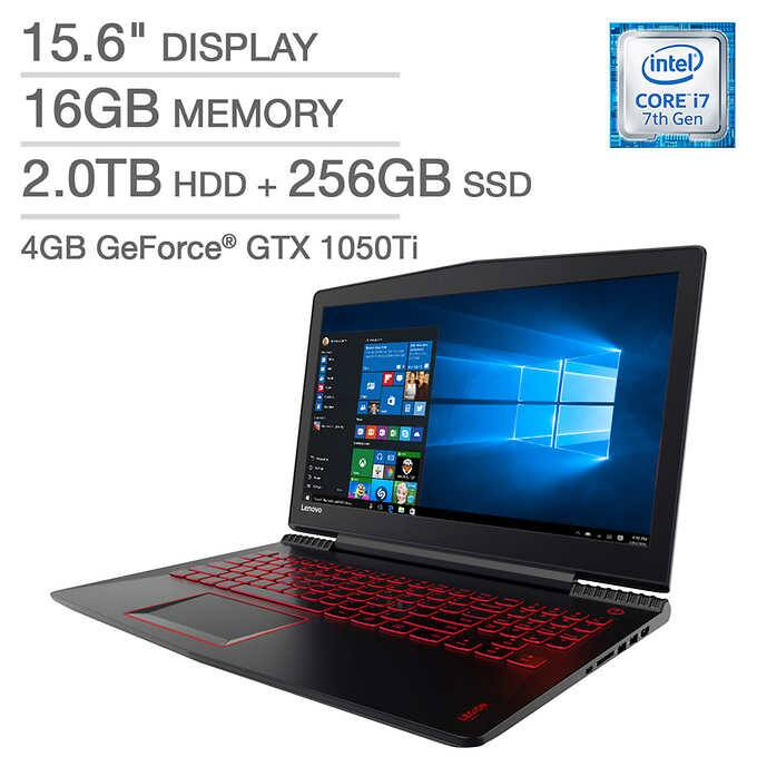 Costco Members: Lenovo Legion Y520 Gaming Laptop: i7-7700HQ, GTX 1050Ti $849.99