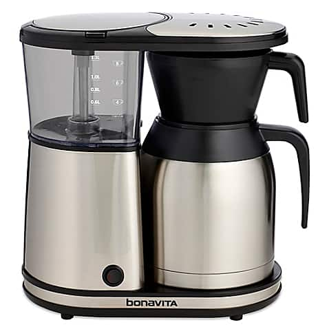 Bonavita BV1900TS 8-Cup Carafe Coffee Brewer, Stainless Steel $86.40 at Bed Bath and Beyond YMMV