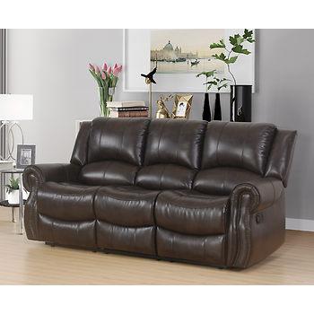 Bradford Reclining sofa or Console Love seat $399