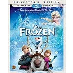 Preorder: Frozen (Two-Disc Blu-ray / DVD + Digital Copy) $19.99 Free SS Shipping @ Amazon