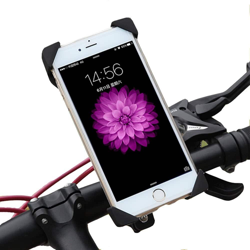 Universal Cell Phone Bicycle Handlebar & Motorcycle Holder Cradle $5.99 / FS with prime