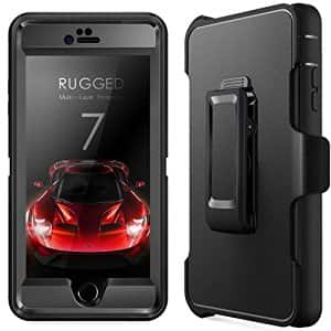 iPhone 7 Case + Tempered Glass Screen Protector, $3.99 AC + FS w/Prime @ Amazon