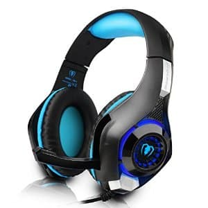Gaming Headset with Microphone for PlayStation 4, Xbox one,mobile phone/tablet $15.88 AC + FS (Prime) @ Amazon