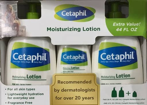 Costco via Google express : Cetaphil Moisturizing Lotion Value Pack - 44 oz total $14