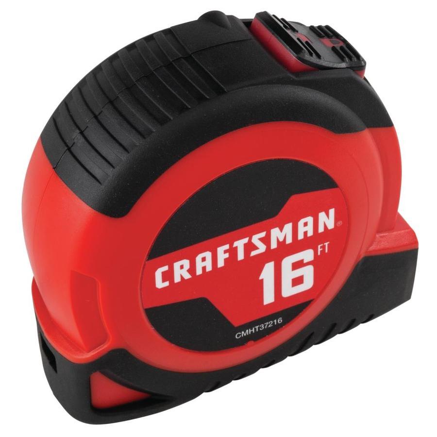 CRAFTSMAN SELF-LOCK 16-ft Auto Lock Tape Measure $ 1.59 & 12 ft $1.78 @lowes. Ymmv $1.59