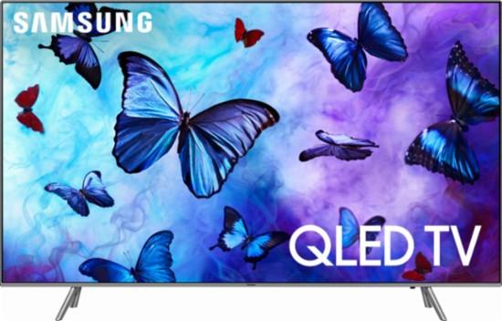 "SAMSUNG 75"" class 4k(2160P) Ultra HD Smart QLED HDR TV QN75Q6FNAFXZA (2018 Model) $528"