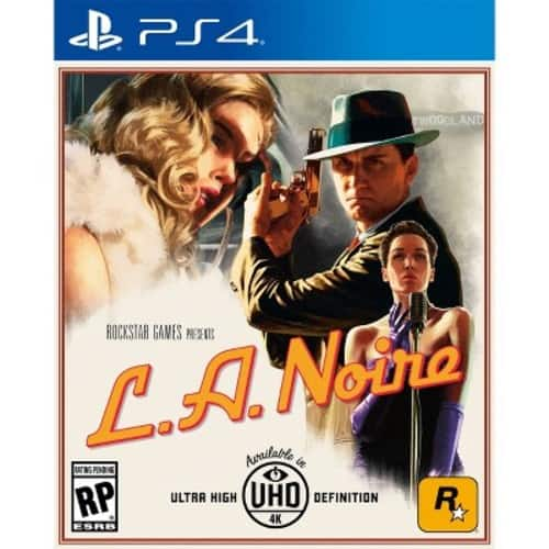 Target - LA Noire for PS4 and XBOX One - Physical - 25% off - Ends at 12:00AM PST $29.99