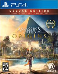 Assassin's Creed: Origins Deluxe Edition for PS4 and XBOX ONE - Physical - Free shipping $39.99