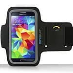 90% off Minisuit SPORTY Armband + Key Holder for Samsung Galaxy S5 S4 S3 S2 (Black) - $2.95 + Free Prime Shipping
