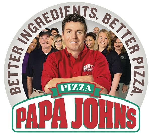 Papa Johns Pizza 7.99 LARGE 1 OR 2 TOPPING PIZZAS