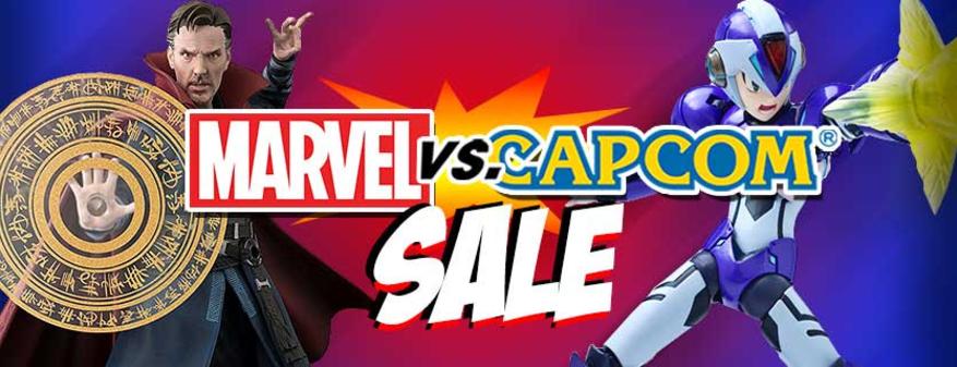 Marvel vs capcom sale 30-50% off $8.99 & up $15
