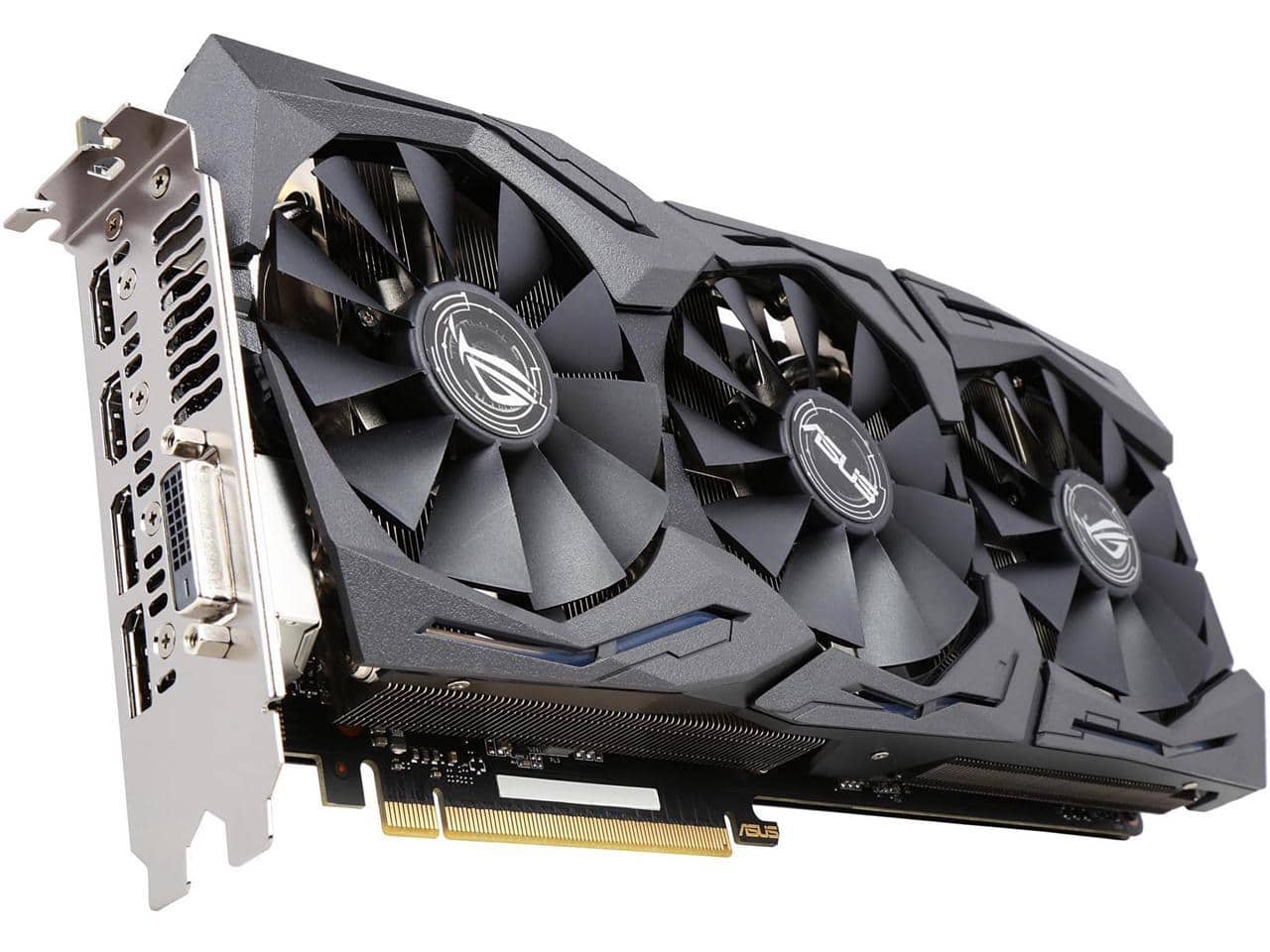 ASUS ROG GeForce GTX 1080 GAMING 8GB GDDR5X 1835 Mhz  Video Card $579.99