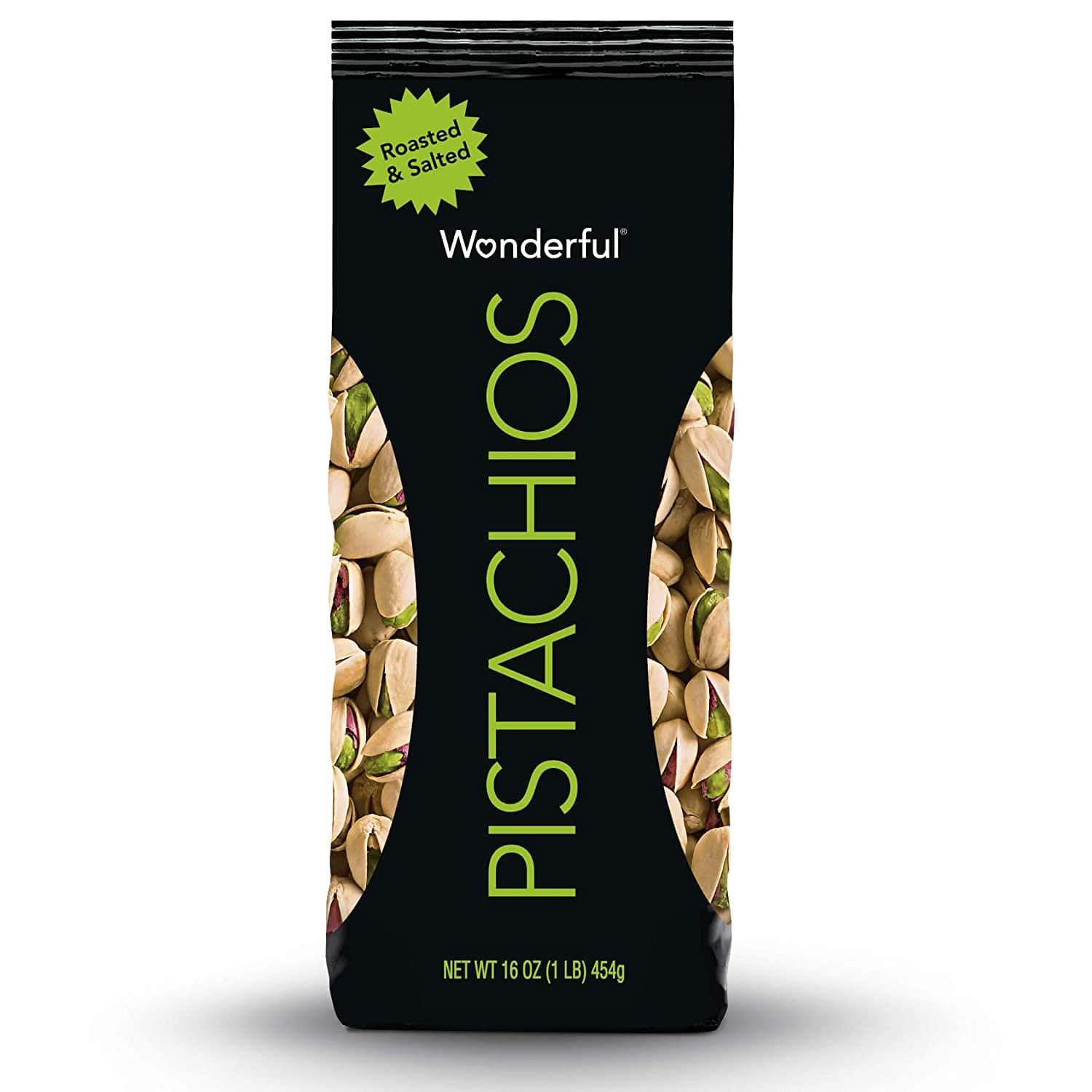 $4.99 /w S&S Wonderful Pistachios, Roasted and Salted, 16 Ounce Bag