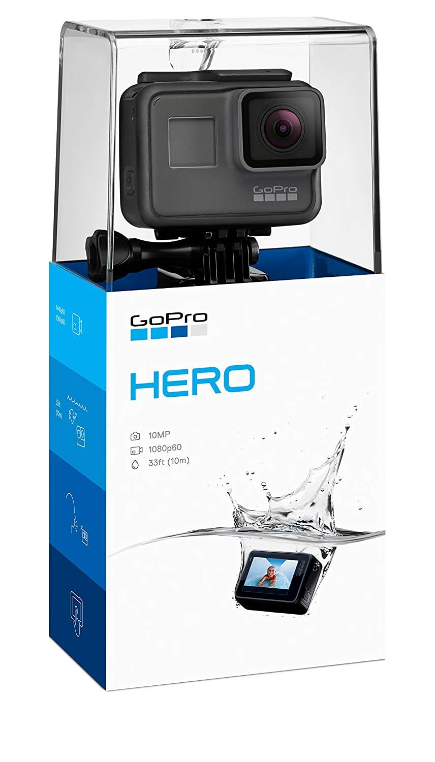GoPro Hero HD 1080p Waterproof Action Camera 2018 $154