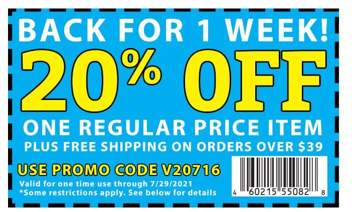 20% off coupon at Rockler + Free shipping over $39 Thru July 29th