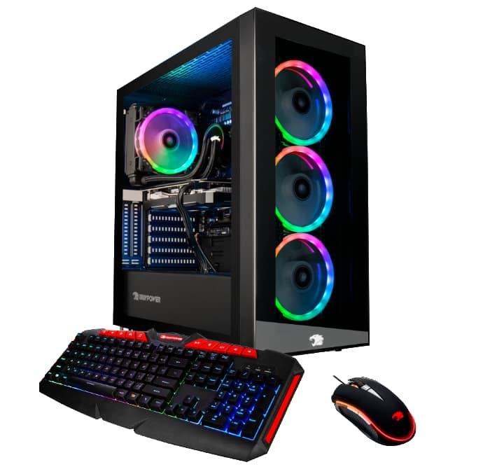 iBUYPOWER CO900iV2 Intel Powered Gaming Rig (i7 9700F/RTX 2060 8GB Super/2TB+480GB/Window 10 Home) @Costco Warehouses $1299.99
