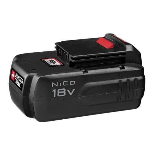 PORTER-CABLE PC18B 18-Volt NiCd Cordless Battery Pack [Battery pack]18V $27.97