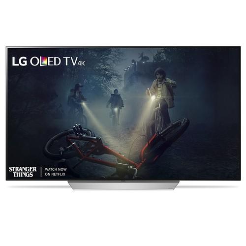 LG OLED55C7P 55-Inch 4K Smart OLED TV (2017 Model) 10% Cash Back $1696.99