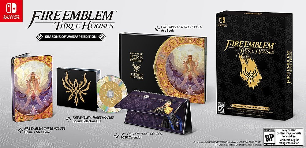 Fire Emblem: Three Houses Seasons of Warfare Edition for Nintendo Switch at Target for $99.99 + Shipping