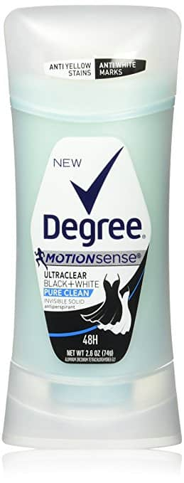 Amazon - Degree Dry Protection Antiperspirant, Pure Clean 2.6 Oz, (Pack of 4) $6.75 after SS and coupon