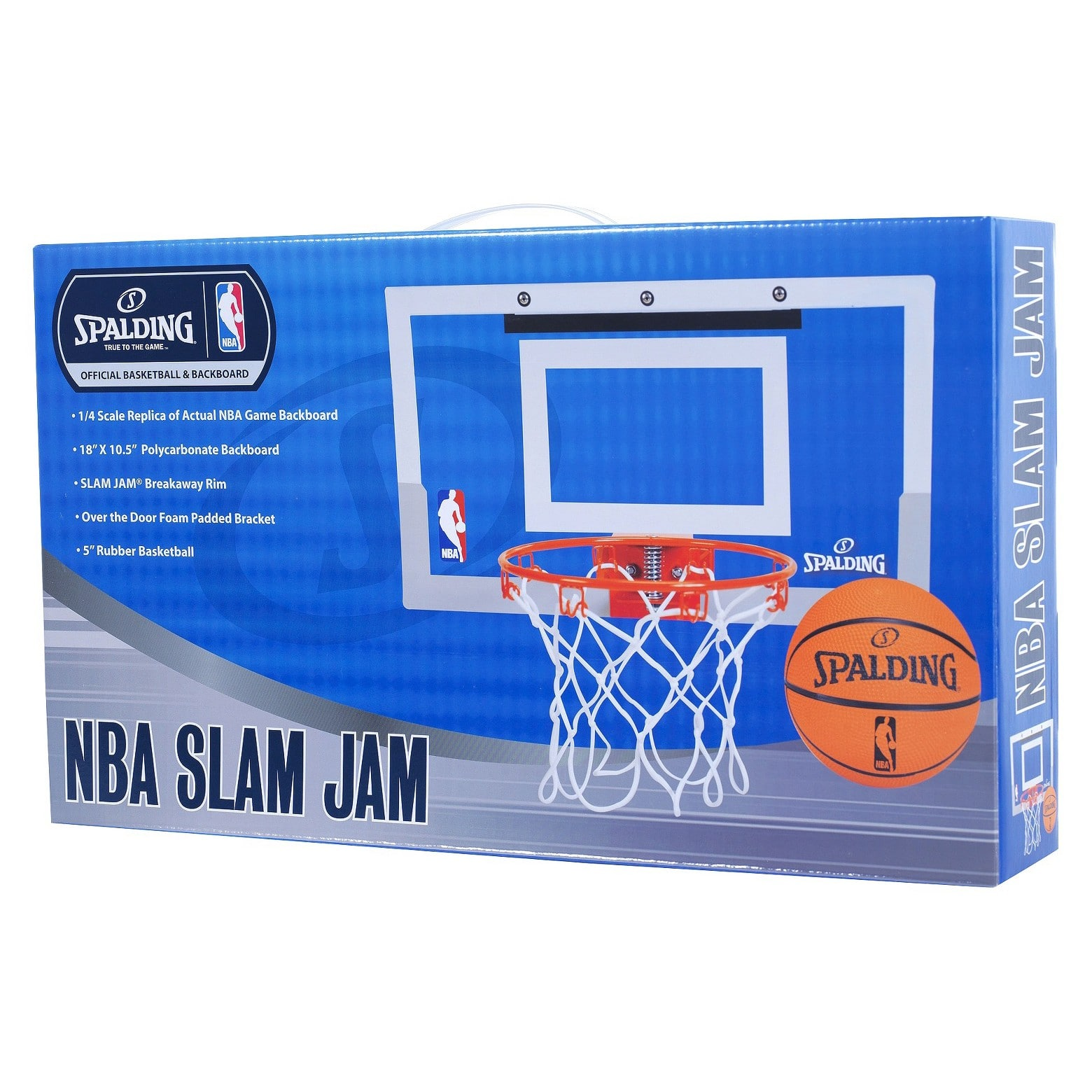 Spalding NBA Slam Jam Over-The-Door Team Edition Basketball Hoop $17.99 at Target + Free Shipping UNTIL DEC 23, 2017!