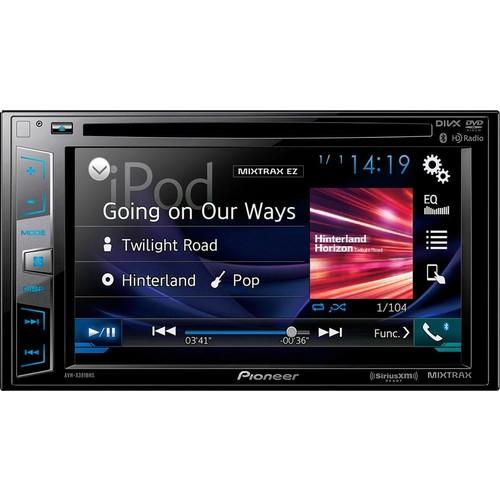 "Pioneer - 6.2"" - Built-in Bluetooth - In-Dash CD/DVD/DM Receiver - Black $200"