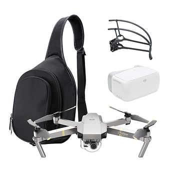 DJI Mavic Pro Platinum Aerial Camera Bundle (includes DJI Goggles)