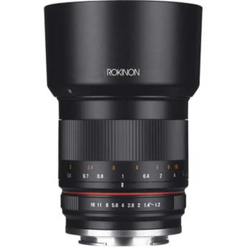 Rokinon 50mm f/1.2 Lens for Fuji $399