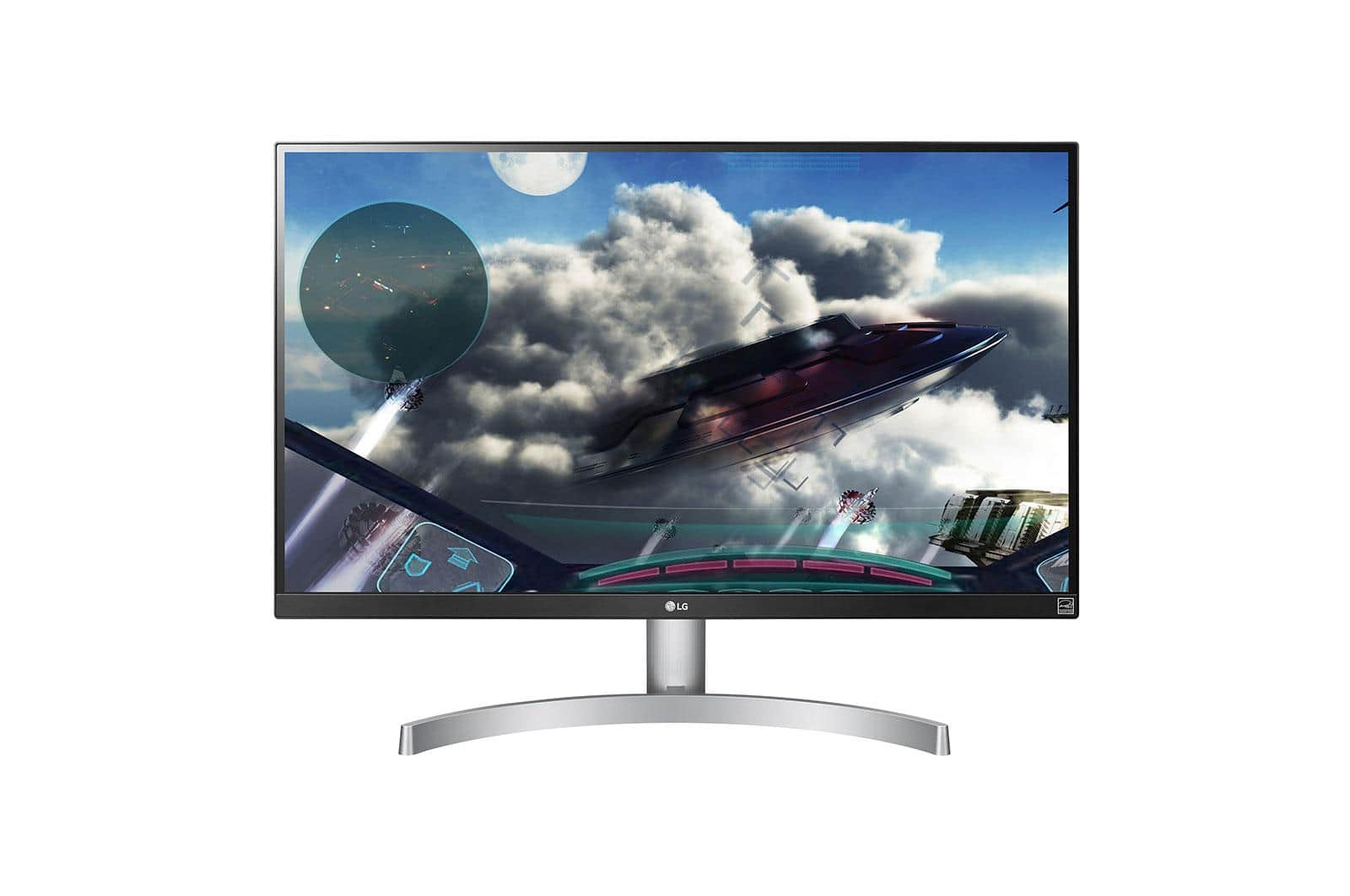 "LG - 27UL600-W 27"" IPS LED 4K UHD FreeSync Monitor with HDR - $350"