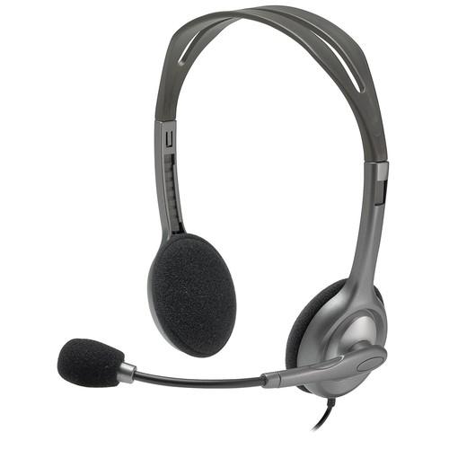 Logitech H111 stereo headset - $5.66