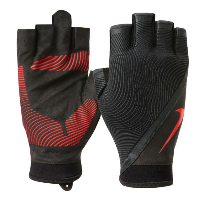 Nike Men's Havoc Crimson/Black Training Gloves for $8.38