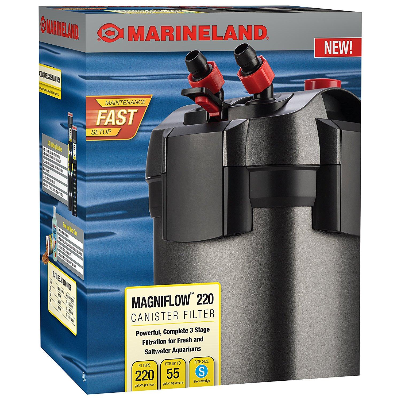 Marineland Magniflow Aquarium External Canister Filter [ML90750 55-Gallons] $44.55; 50% off with Coupon