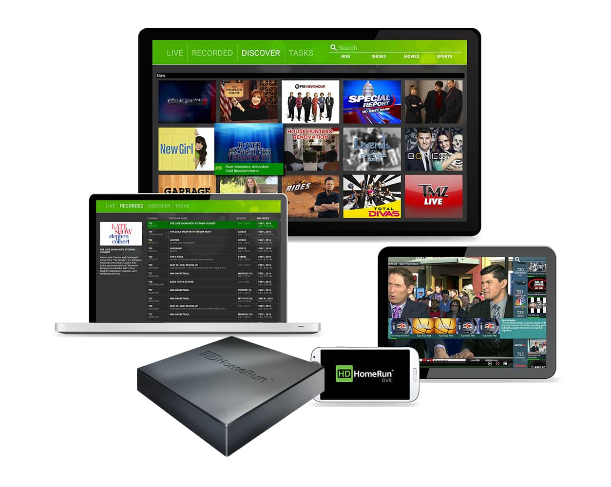 SiliconDust HDHomeRun Connect Duo OTA 2-Tuner Streaming Media Player DVR $79.99