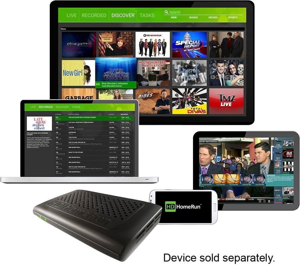 SiliconDust HDHomeRun Prime CableCARD 3-Tuner Streaming