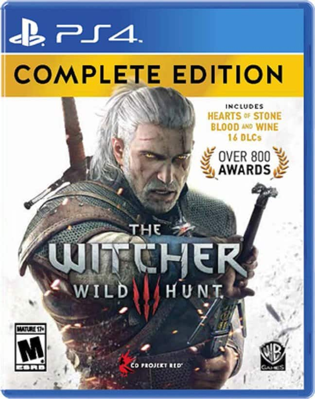 The Witcher 3 Wild Hunt Complete Edition(PS4 & XB1) - $14.98 @ Toys R Us - IN STORE ONLY