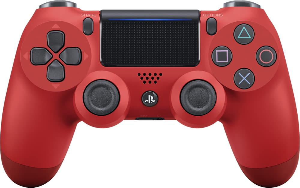 Two Magma Red Dualshock 4's for $71.98 w/ promo @ Best Buy right now with free shipping