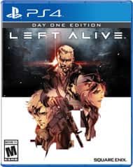 Left Alive for PS4 - $9.99 pre-owned @ Gamestop - qualifies for 3/$15 promo - ALL new copies were converted to pre-owned - trades to Best Buy for $8