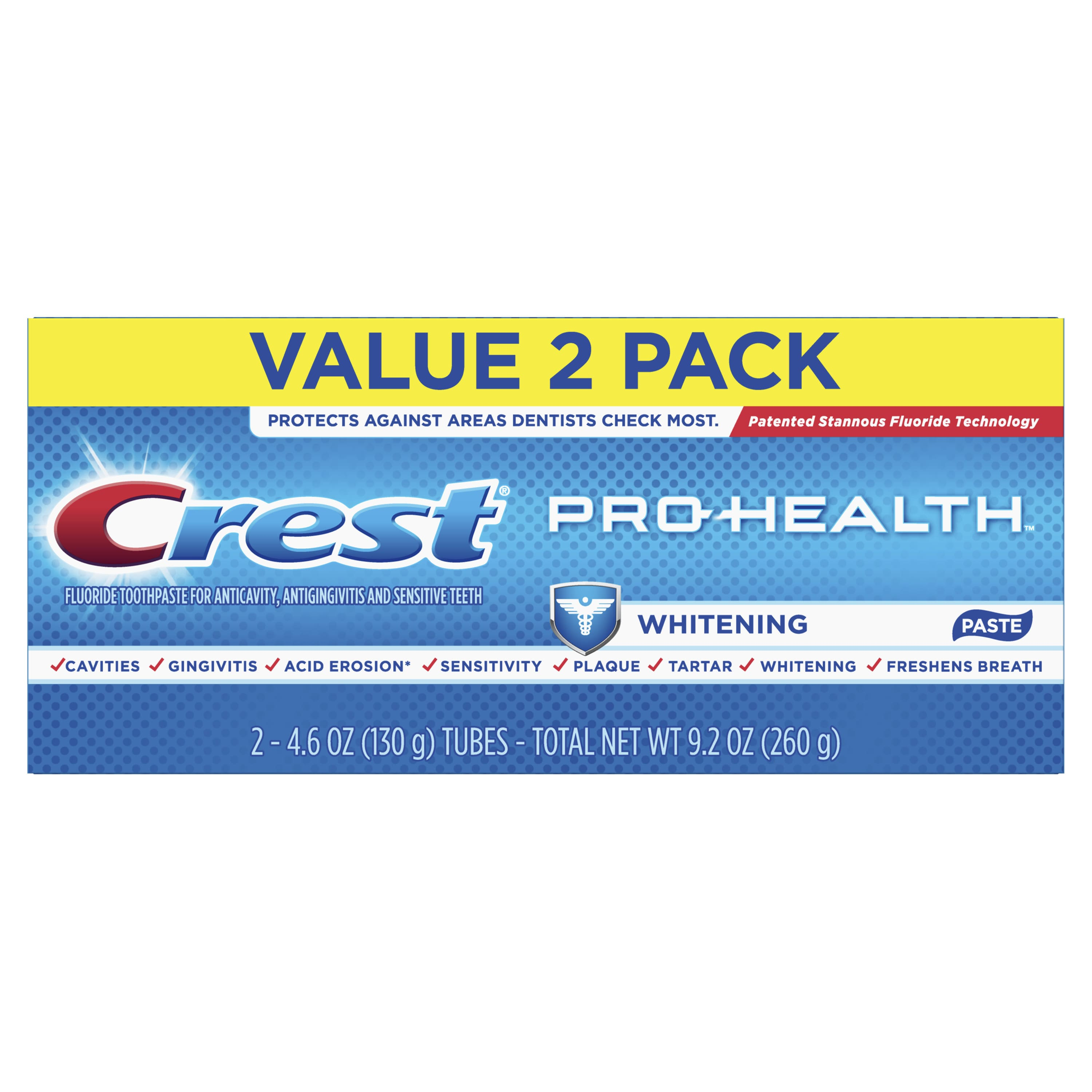 Crest Pro-Health Whitening Toothpaste, 4.6 oz, Pack of 2 - as low as $.50 at Walmart - IN STORE ONLY