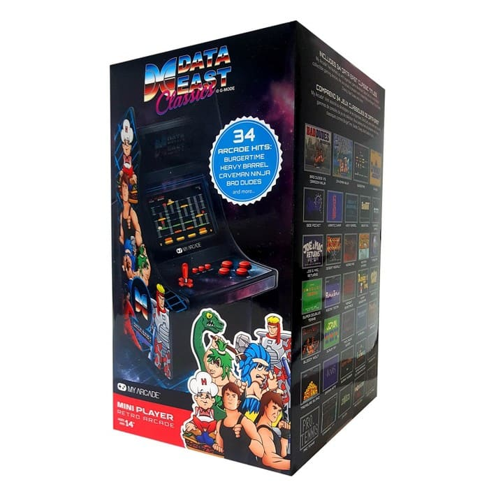 Data East Mini Arcade Cabinet (10 inch) - as low as $39.98 IN STORE @ Target - YMMV