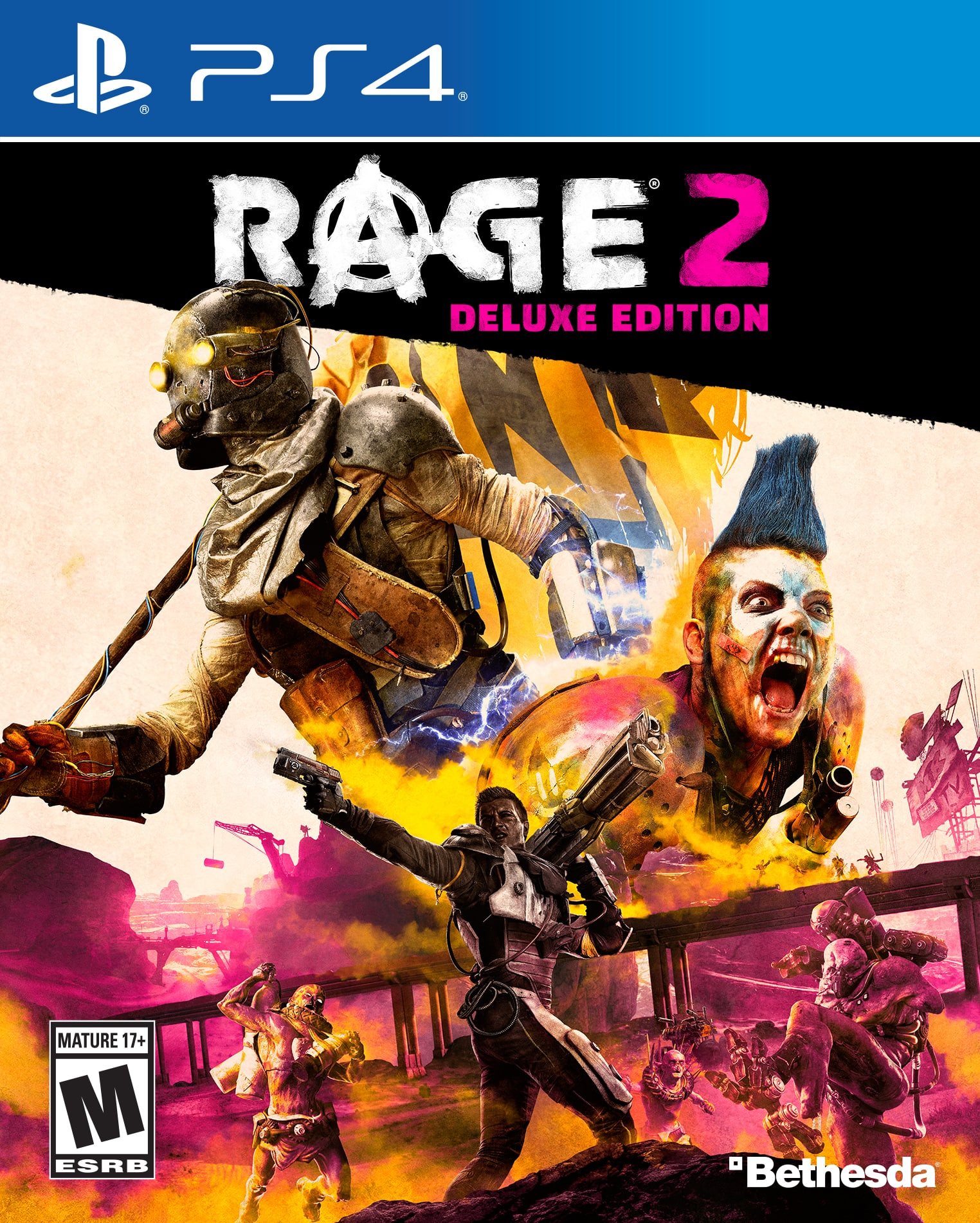 Rage 2 Deluxe Edition for Playstation 4 & Xbox One - $29 IN STORE at Walmart stores - YMMV on stock - Xbox One version cheaper ($24.99 plus tax) from VIP Outlet on Walmart.com
