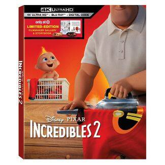 Incredibles 2 4k UHD (Target Exclusive) - as low as $8.98 at Target - IN STORE ONLY- YMMV