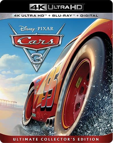Cars 3 4K Bluray + Digital HD for $20 at Amazon (Prime Exclusive)