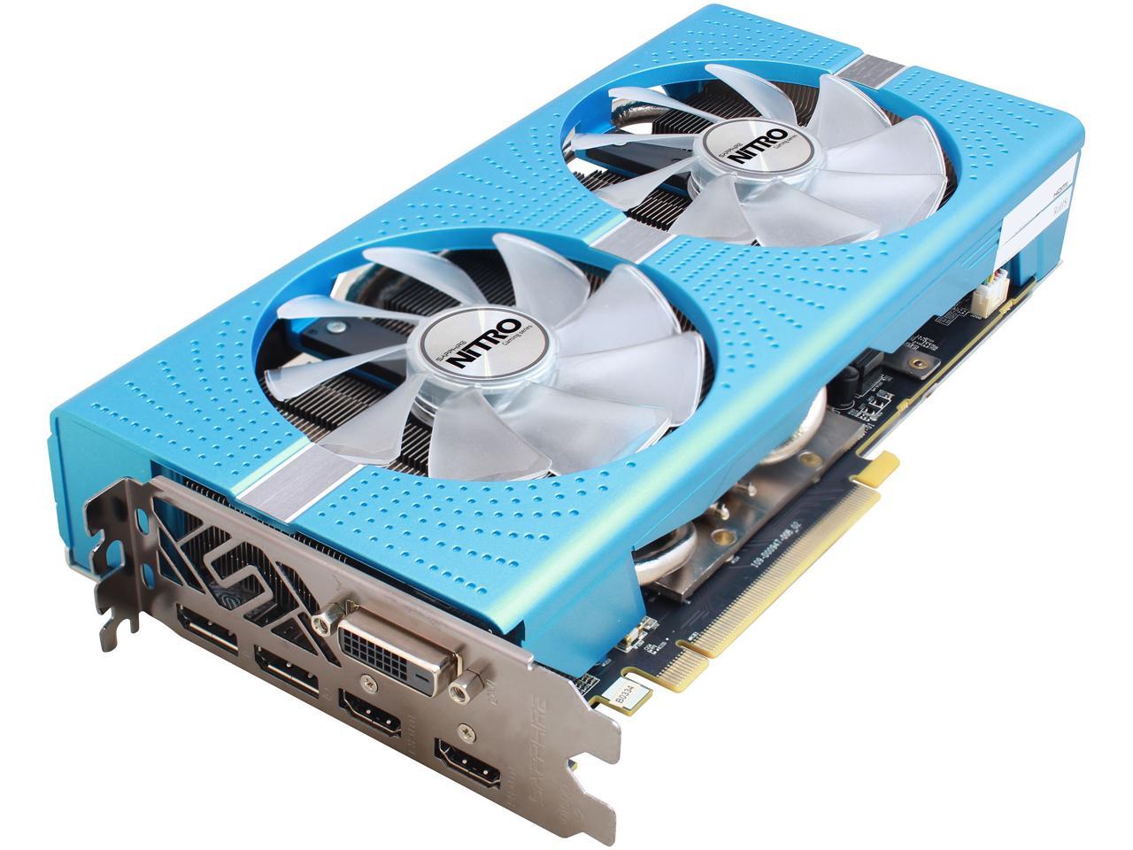 Sapphire Radeon NITRO+ RX 580 8GB GDDR5 309.99 In-stock