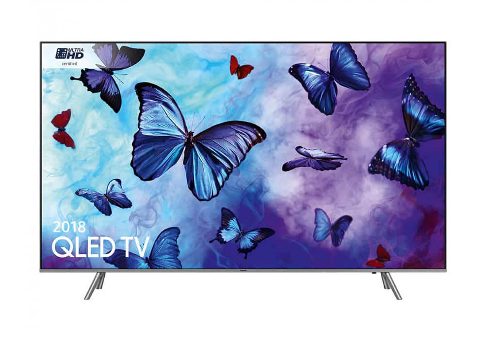 """Samsung QN55Q65FNFXZA 55"""" Class 4k Ultra HD HDR Smart QLED TV - Refurbished $699 Micro Center In-store only"""