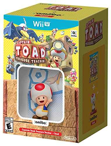 Wii U: Captain Toad Treasure Tracker + Amiibo - $32 (pre-order Amazon Prime)