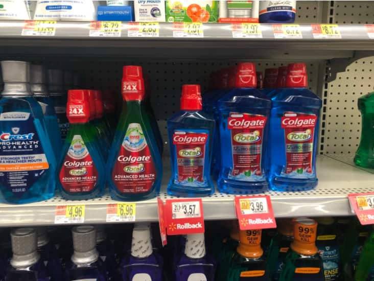 Colgate Total Advanced Mouthwash Only $1.96 (Regularly $5)