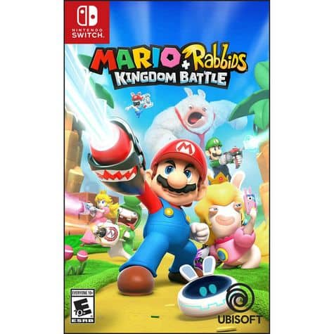 Mario + Rabbids Kingdom Battle for Nintendo Switch $30 w/ Email Signup